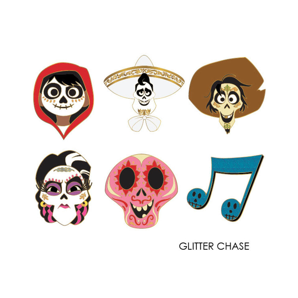 Disney | Pixar Coco Heads Blind Box Enamel Pin
