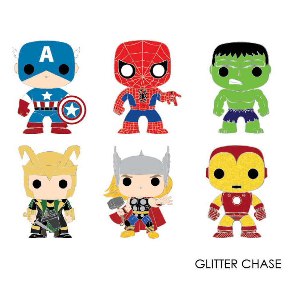 Marvel | Funko Pop Marvel Heroes Blind Box Enamel Pin