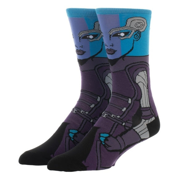 Marvel | Guardians of The Galaxy Nebula 360 Character Crew Socks