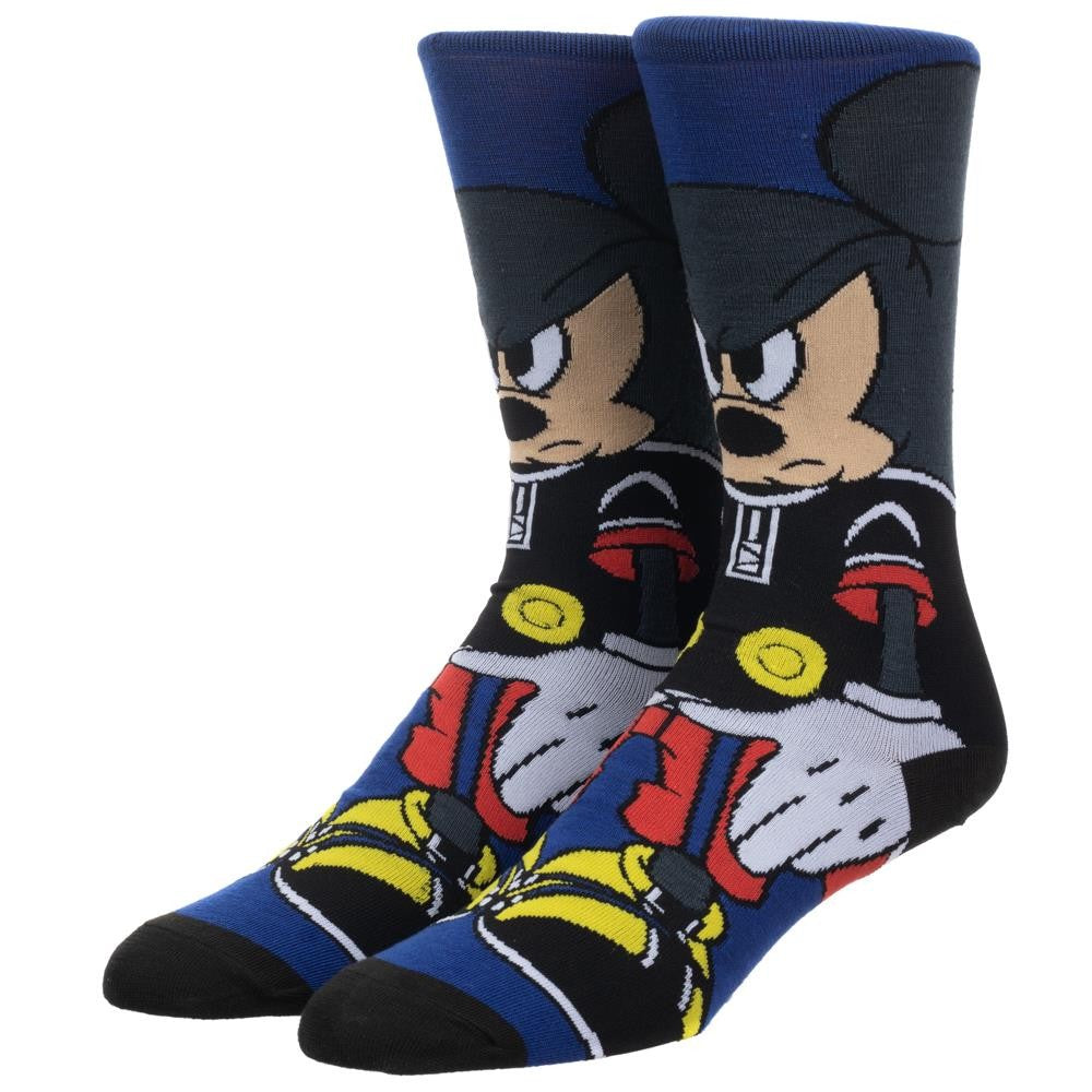 Disney | Kingdom Hearts Mickey Mouse 360 Character Crew Socks