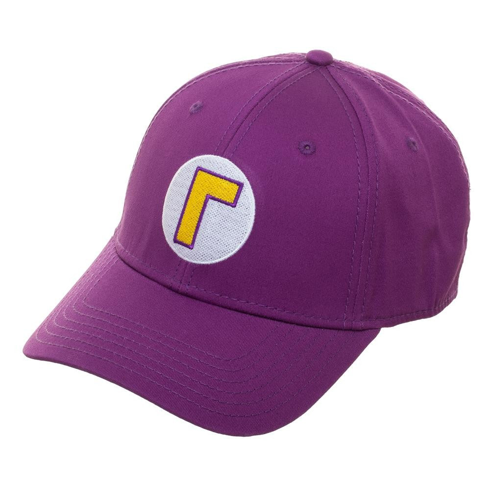 Nintendo | Super Mario Bros Waluigi Flex Flex Fit Hat