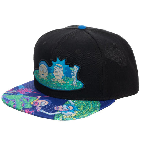 Rick and Morty | Sublimated Bill Snapback
