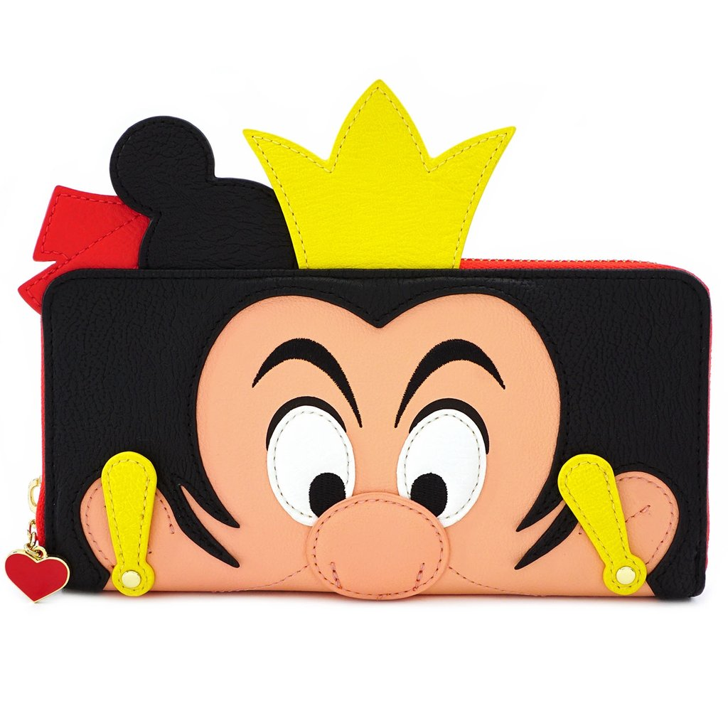 Disney | Alice In Wonderland Queen of Hearts Zip Around Wallet