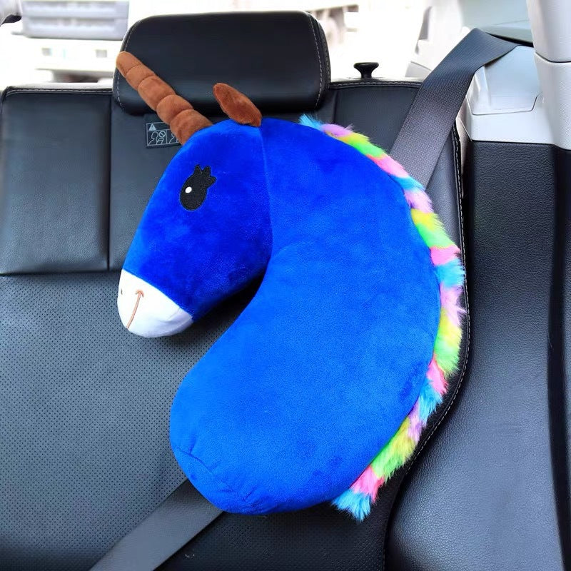 UNICORN CAR SEAT BELT & SHOULDER PILLOW - Liprahome