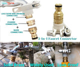 3-in-1 Faucet adapter Set