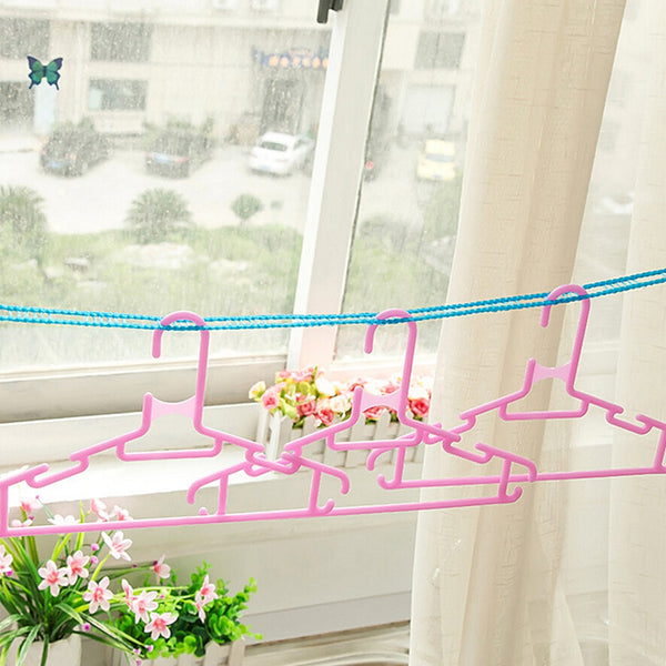 Cloth Hanging Rope Home Storage 3 M 5M Clothes Dryer Non-slip Drying Rack Clothesline Washing Line - liprahome