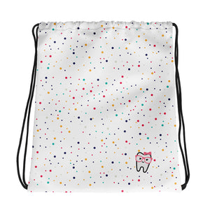 Drawstring bag dots