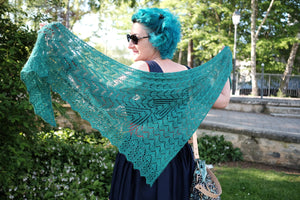 Heart Thief Shawl