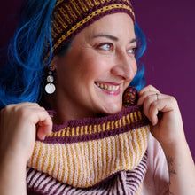 Load image into Gallery viewer, Mountain High cowl and headband