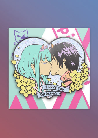 I love you Darling Pin