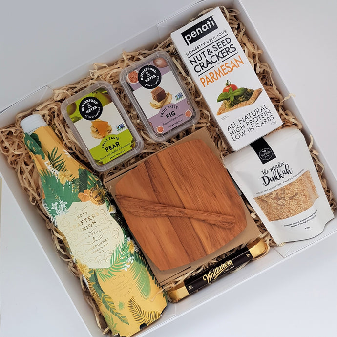 Wine and Cheese Gift Box