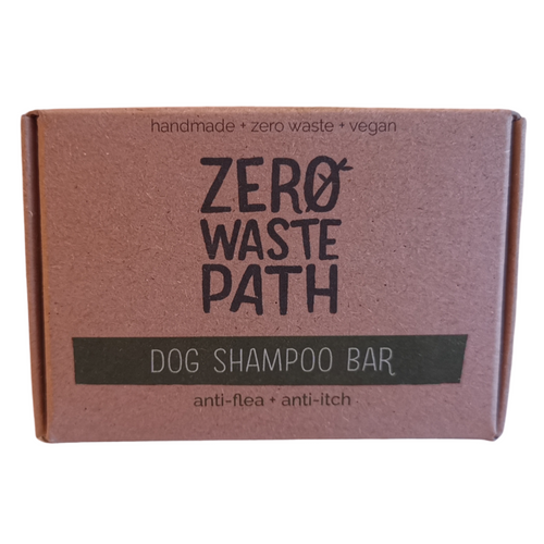 Zero Waste Path Dog Shampoo Bar - 100g