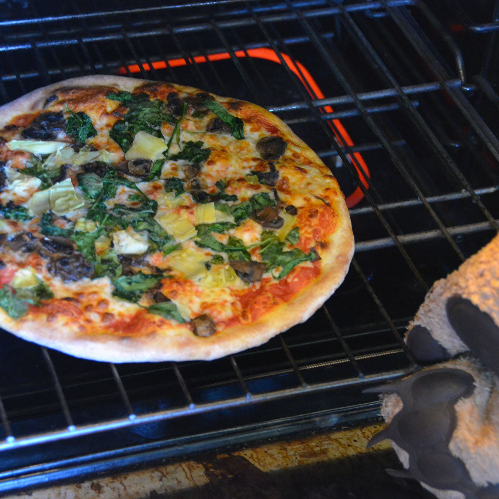 JH Free Range Pizza in your oven
