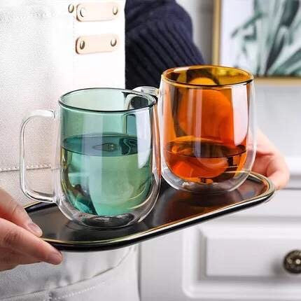 Mika Colored Double Walled Mug