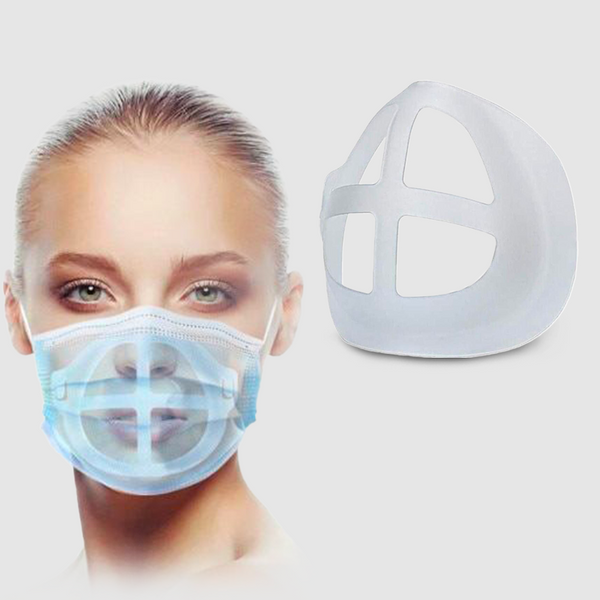 Lot de supports silicone 3D qui facilitent enfin le port du masque