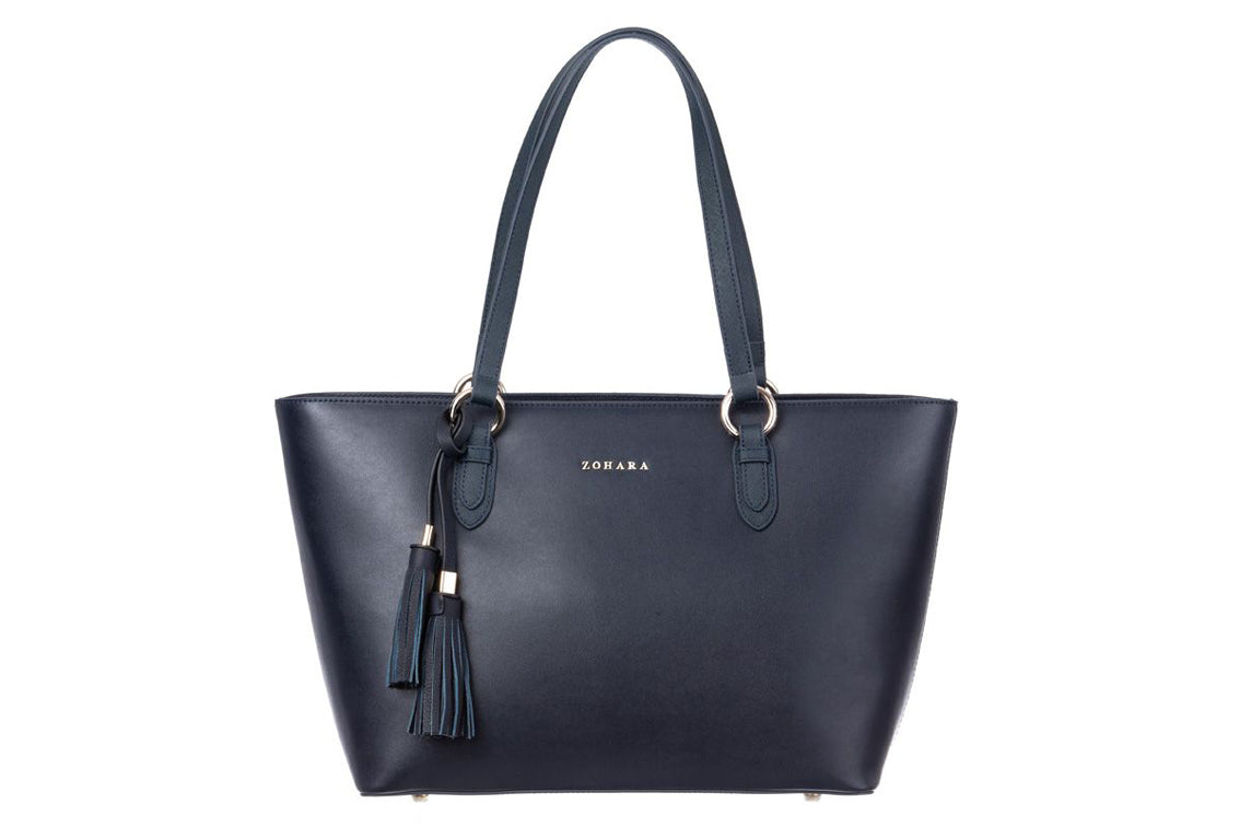 Zohara - Cairn Shopper Navy