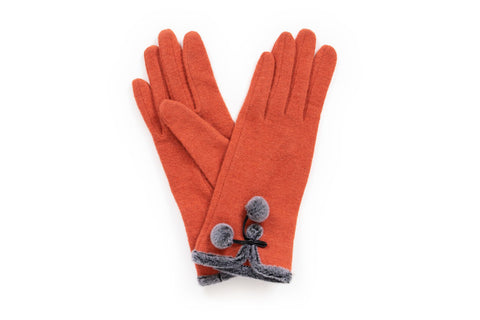 Powder - Betty Tangerine Gloves