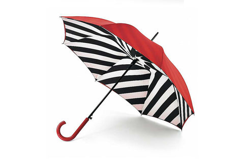 Lulu Guinness- Bloomsbury Stripe Umbrella