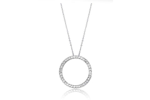 Kaytie Wu - Circle Crystal Necklace