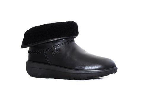 Fitflop - Mukluk Shorty Black Leather