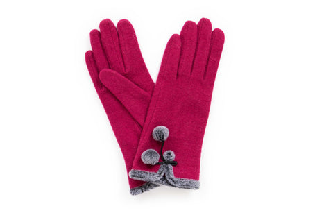 Powder - Betty Fuchsia Gloves