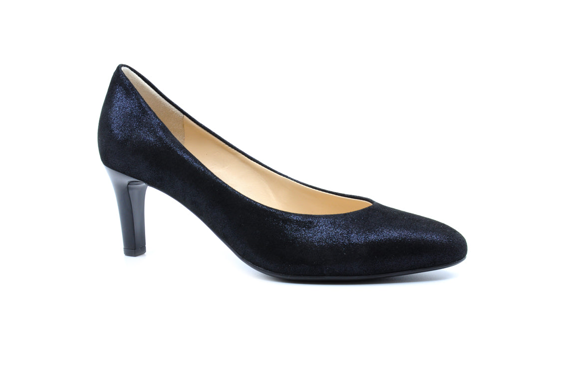 b9ce3dd7316 Hogl - Claire Navy Suede – Envee of Monmouth