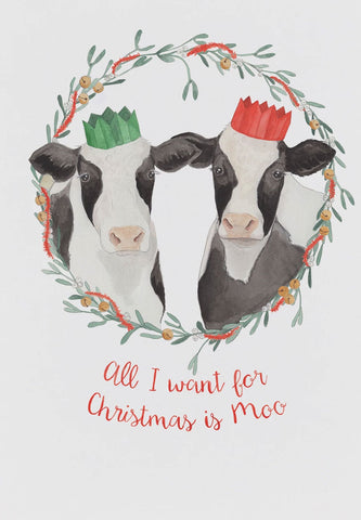 Mister Peebles - All I want for Christmas is Moo
