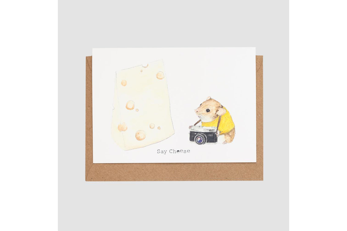 Mister Peebles - Say Cheese Card