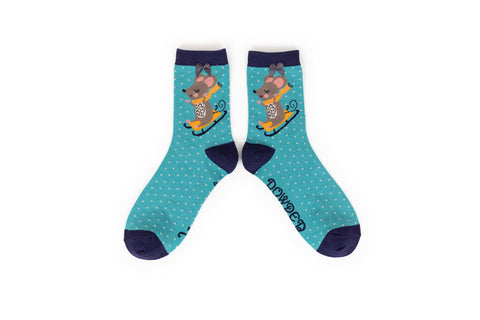 Powder - Mouse Ankle Socks
