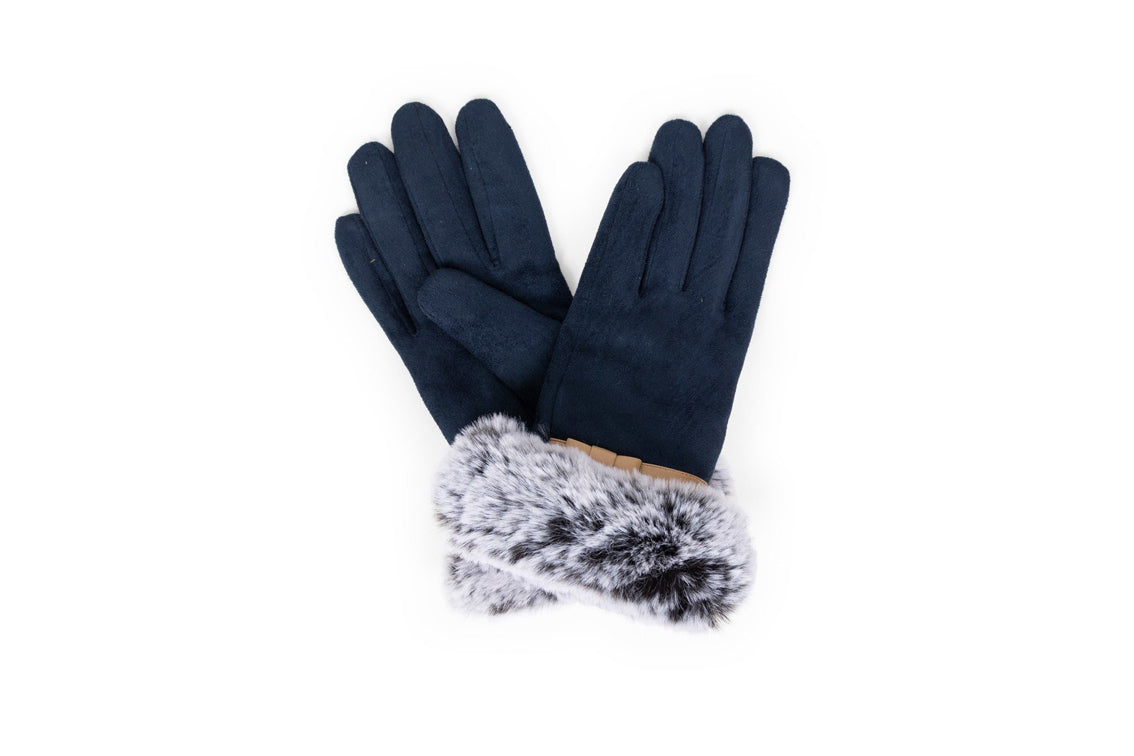 Powder - Penelope Navy Gloves