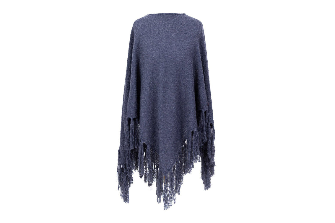Powder -  Tara Navy Poncho