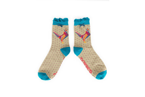 Powder - Pheasant Ankle Socks