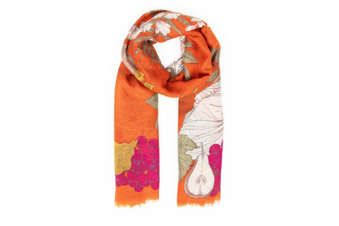 Powder - Roman Rabbit Print Scarf