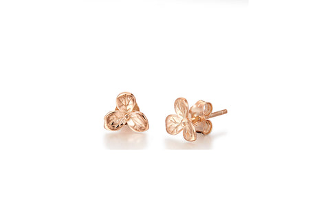Kaytie Wu - Gold plated Flora Earrings
