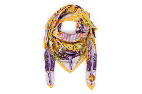 Powder - Elephant Parade Satin Scarf