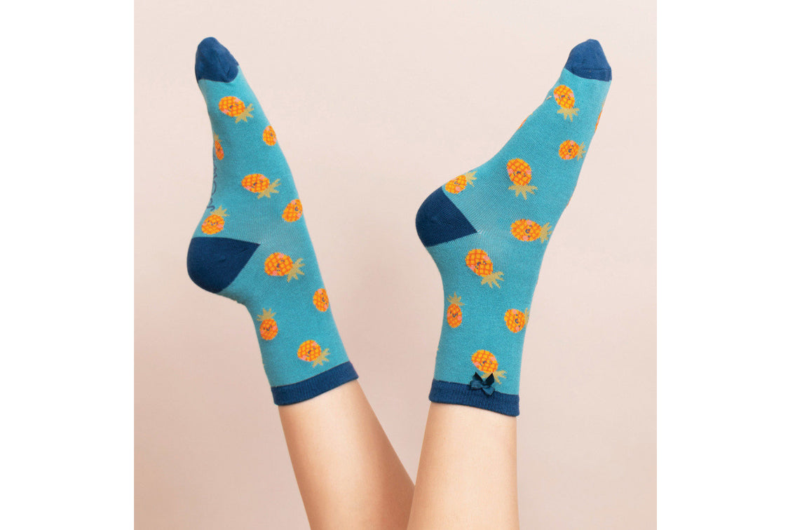 Powder - Pinapple Ankle Socks