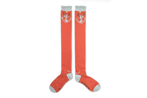 Powder - Stag Long Socks