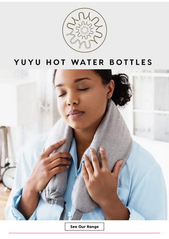 Yuyu Bottle - Luxury Spa Grey Waffle Hot Water Bottle