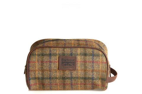 Barbour - Tweed Wash Bag