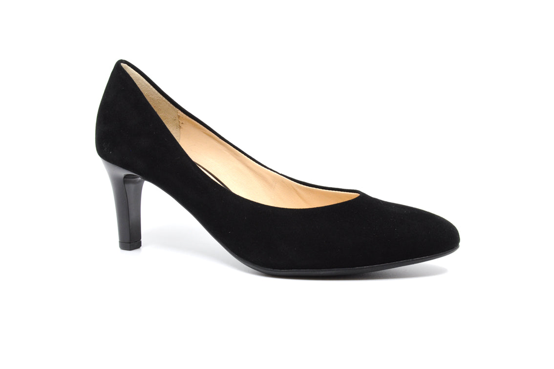 Hogl - Black Suede Court Shoe