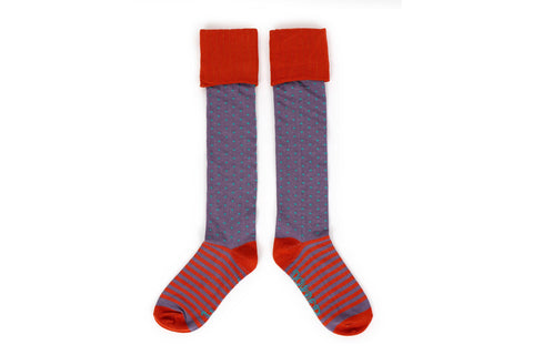 Powder - Spot Boot Socks