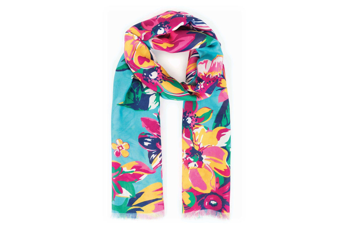 Powder - Summer Floral Scarf