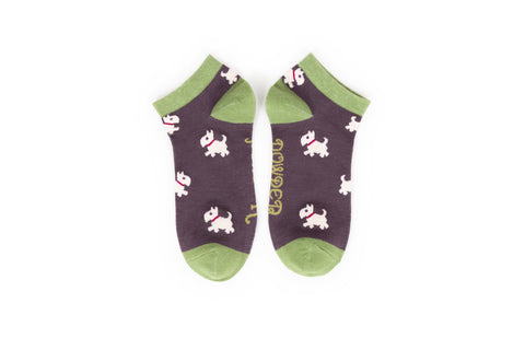 Powder - Westie Trainer Socks