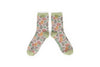 Powder - Slate Leaf Ankle Socks