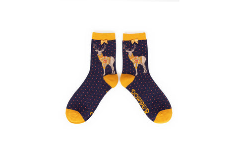 Powder - Stag Ankle Socks