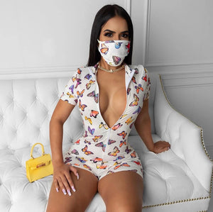 Butterfly One Piece w/mask