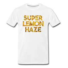 Load image into Gallery viewer, Men's Premium Organic Super Lemon Haze T-Shirt - white