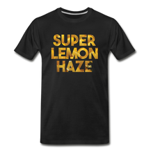 Load image into Gallery viewer, Men's Premium Organic Super Lemon Haze T-Shirt - black