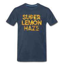 Load image into Gallery viewer, Men's Premium Organic Super Lemon Haze T-Shirt - navy