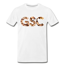 Load image into Gallery viewer, Men's Premium Organic Girl Scout Cookies T-Shirt - white